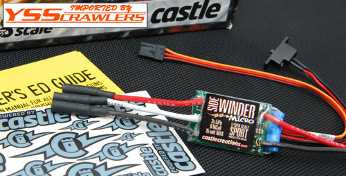 Castle Creations Sidewinder Micro!