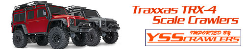 Traxxas TRX-4 Scale Crawler series