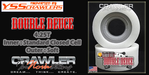Cralwer InNovation 1.9 Lil Nova Dual Stage Foams 4.25T