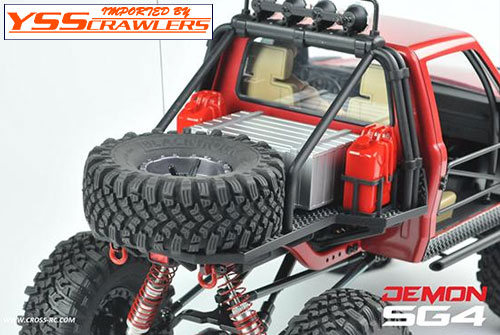Cross RC SG4A Demon Rock Crawler!