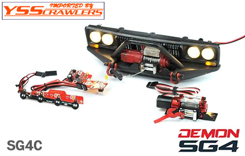 Cross RC SG4C Demon Rock Crawler!