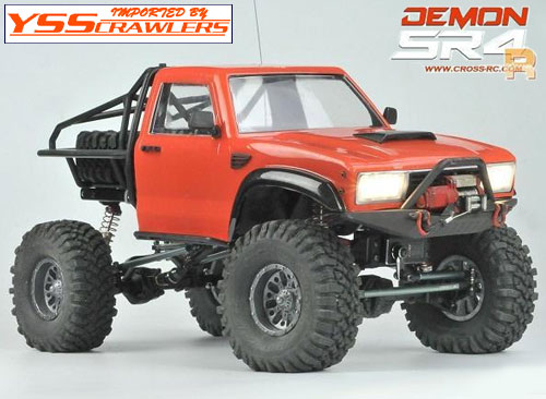 Cross RC SR4A Demon Rock Crawler!