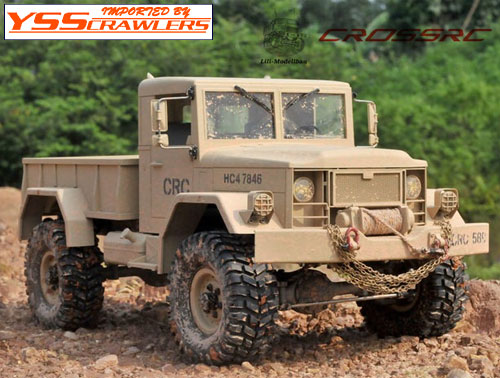 Cross RC - HC-4 トラック クローラーキット![予約]
