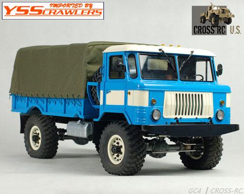 Cross RC - GC4 4x4 トラック クローラーキット![予約]