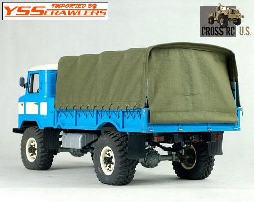 Cross RC - GC4 4x4 トラック用 タープセット!