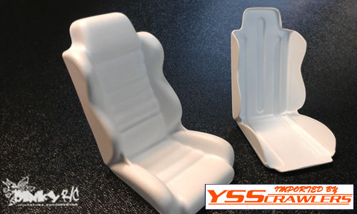 Dinky RC Cheap Seats [2pcs][White]