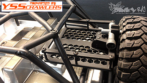 DinkyRC JK Swing Out Tire Rack for Axial JEEP!