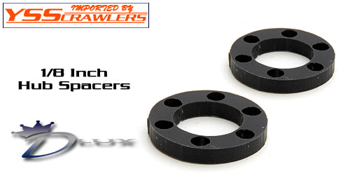 Dlux Fab Hub Spacers for SLW or DH hubs