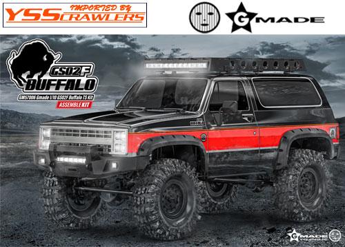G Made - GS02F BUFFALO TS スケールクローラーキット!