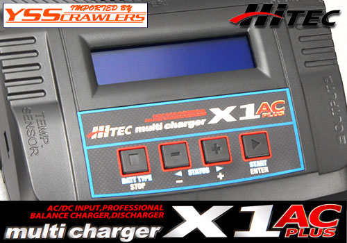 Hitec X1 AC Plus Battery Charger!