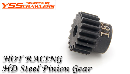 48Pitch hardened steel Pinion 18T