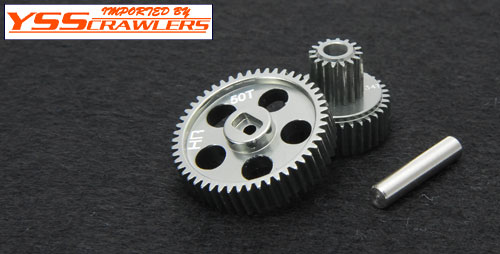 Hard Anodizing Alum. Center Gear set