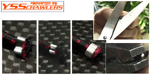1/10 scale white bungee cord kit