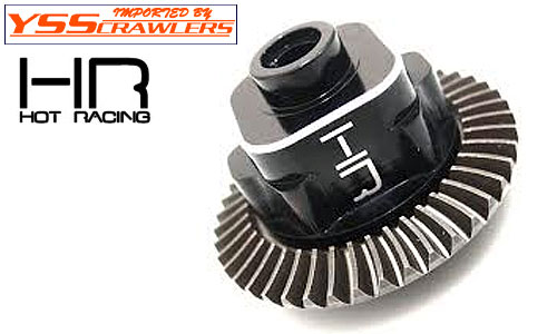 Hot Racing Unibody Super Heavy Duty Differential Lock Ax10!