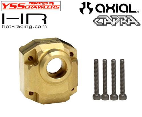HR 真鍮 88g F9ポータルアクスル サードメンバー for Axial Capra!