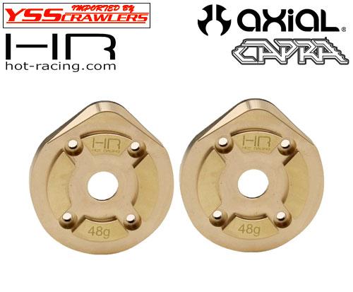 HR 真鍮 48g F9ポータルアクスル ナックルカバー for Axial Capra!