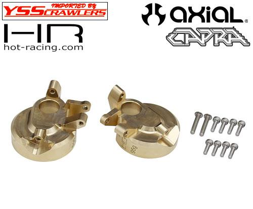 HR 真鍮 95g F9ポータルアクスル ナックル for Axial Capra!