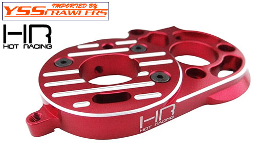 Hot Racing Aluminum Motor Mount Plate for the Axial SCX10 II