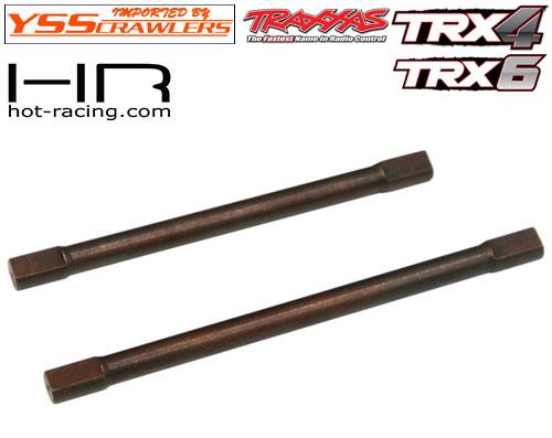 HR スプリング スチール リア ドライブシャフト for Traxxas TRX-4 TRX-6!