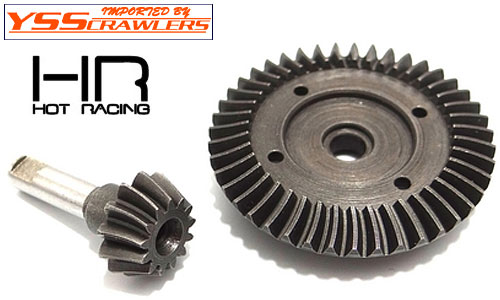 Hot Racing 43T/13T Spiral Diff Bevel Gear set for SCX10, Wraith, Ridge Crest, EXO!