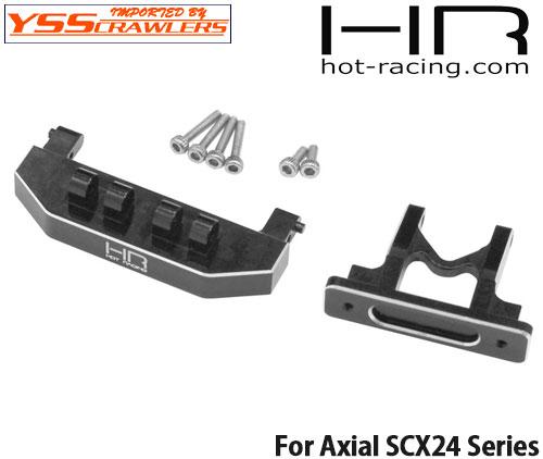 HR アルミリアボディーマウントサポート for Axial SCX24!
