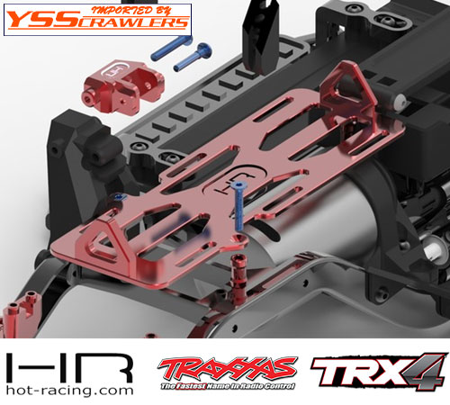 HR Forward Mounted Battery and Servo Kit for Traxxas TRX-4