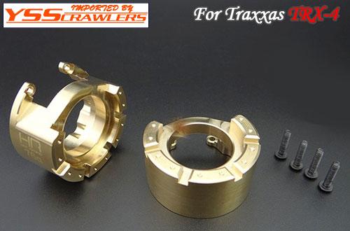 HR ブラス ヘビーメタル ナックル ウェイト for Traxxas TRX-4!