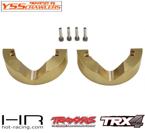 HR 真鍮 モジュラー 47g インナーナックルウェイト for Traxxas TRX-4!