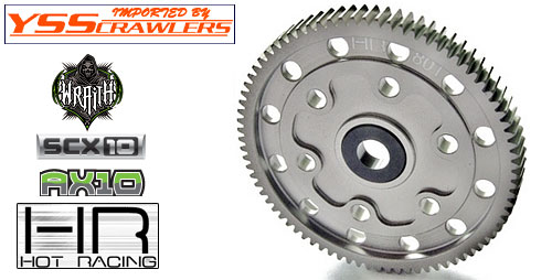 Hard Anodized 80T Alum. spur gear