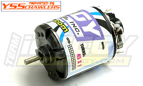 Integy Matrix Pro Lathe Motor 45T Single for Rock Crawler!