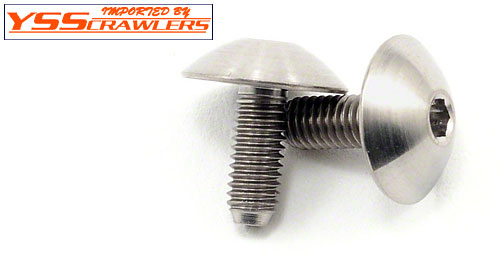 Lunsford 3x7.4mm Titunium Body Mount Screws