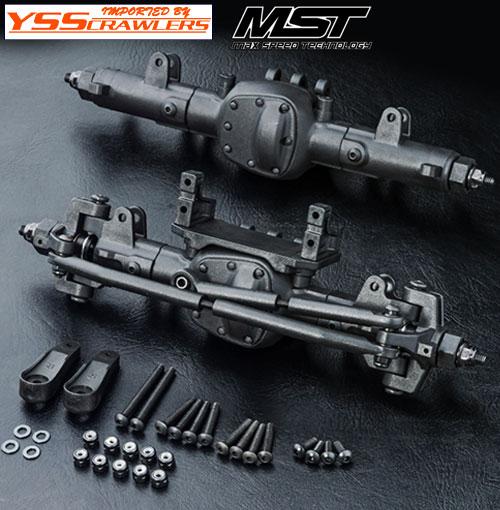 YSS MST CMX 前後コンプリートアクスルセット![組立]