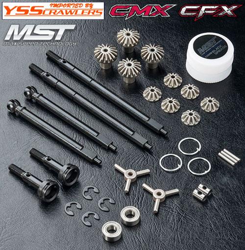 YSS MST オープンデフ フルセット for CMX CFX MTX-1!