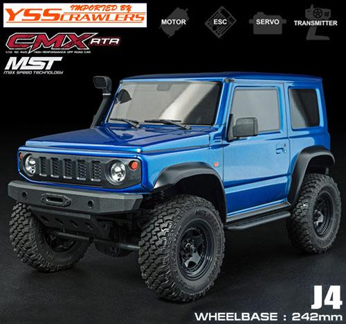 YSS MST CMX ジムニー J4 4WD クローラー[ブルー][RTR][予約]