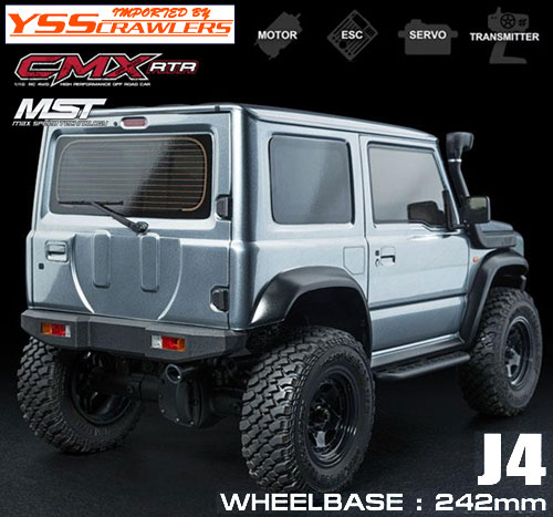 YSS MST CMX ジムニー J4 4WD クローラー[ライトグレー][RTR][予約]