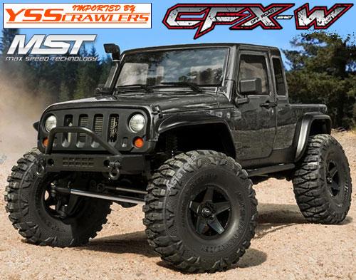 YSS MST CFX-W ジープ JP1 4WD クローラー[グレー][RTR]