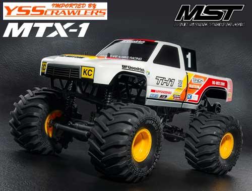 YSS MST MTX-1 2WD モンスタートラック![RTR][予約]