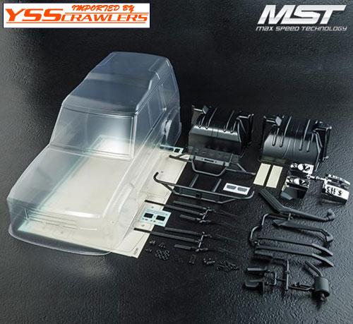YSS MST ディスカバリー DC1 クリアーボディー![ディスカバリー]