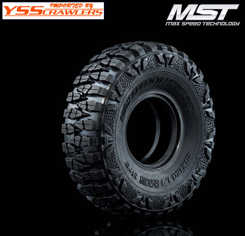 YSS MST MG 1.9 クローラータイヤ![ソフト][2本]