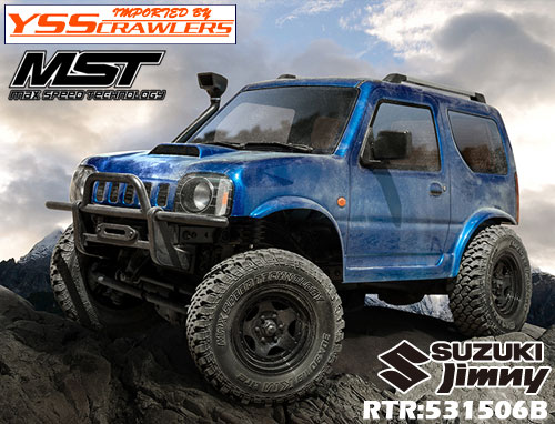 YSS MST CMX ジムニー J3 4WD クローラー[ブルー][RTR][予約]