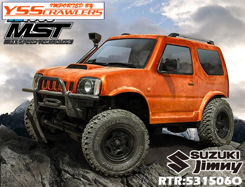 MST CMX 4WD Off-Road Car RTR J3 for MST CMX