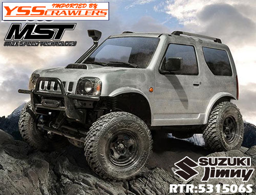 YSS MST CMX ジムニー J3 4WD クローラー[シルバー][RTR][予約]