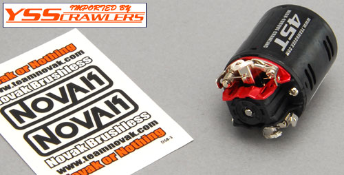 Novak Rock Star Expert Crawling Motor 45T