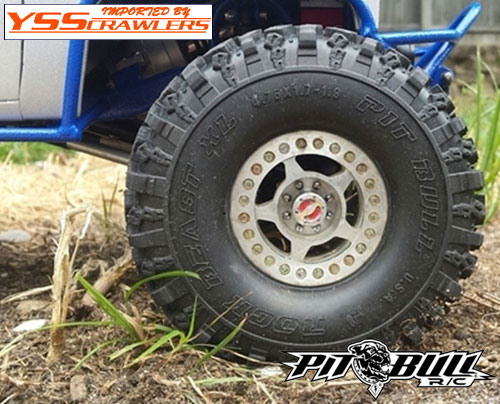 Pitbull Rock Beast XL Scale 1.9 inch tires [Pair]