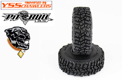Pitbull Rock Beast 1.55 inch tires [Pair][AK]
