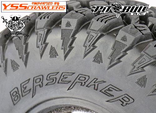 ピットブル ブレーブン バーサーカー A/T 2.2インチ タイヤ [ペア]