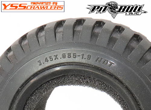 Pitbull RC TEMCO NDT MILITARY 1.9 inch tires [Pair]