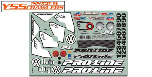 Proline Racing Full Fender Baja Body