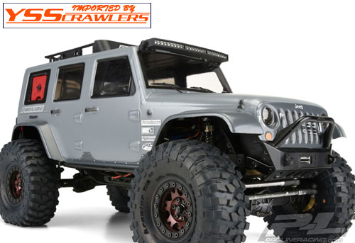 Proline Wrangler Rubicon JEEP JK 4 door Body