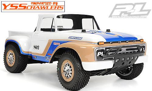 Proline Racing 1966 Ford F-100 Clear Body